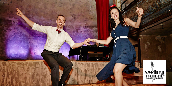 Dance lessons & live music with Swing Patrol