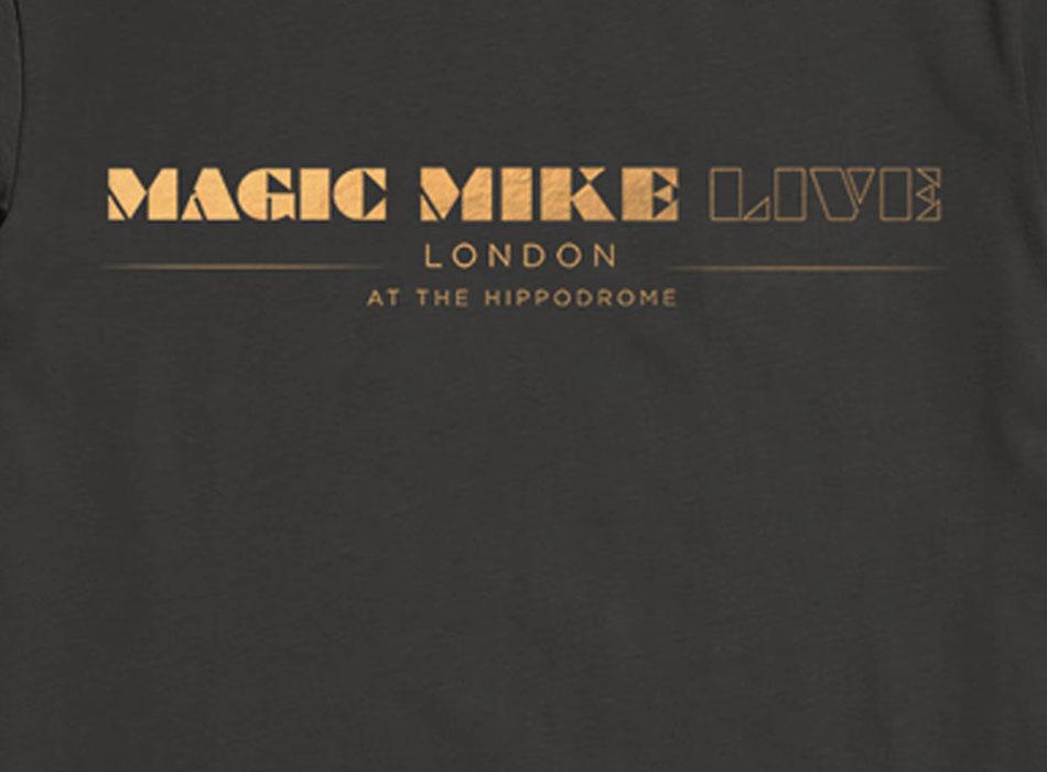 Magic Mike Live Merchandise