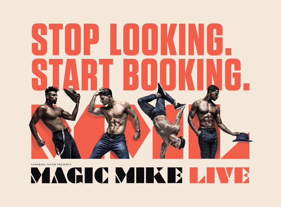 Magic Mike Live Website