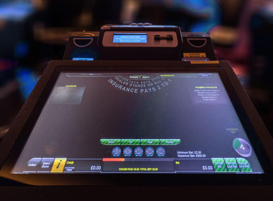Electronic Blackjack