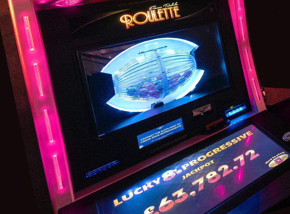 Electronic Progressive Roulette